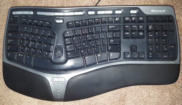 microsoft natural ergonomic keyboard 4000 instructions